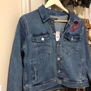 NWT J Crew denim jacket